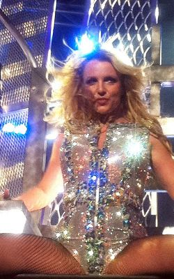 Britney Spears at San Jose concert